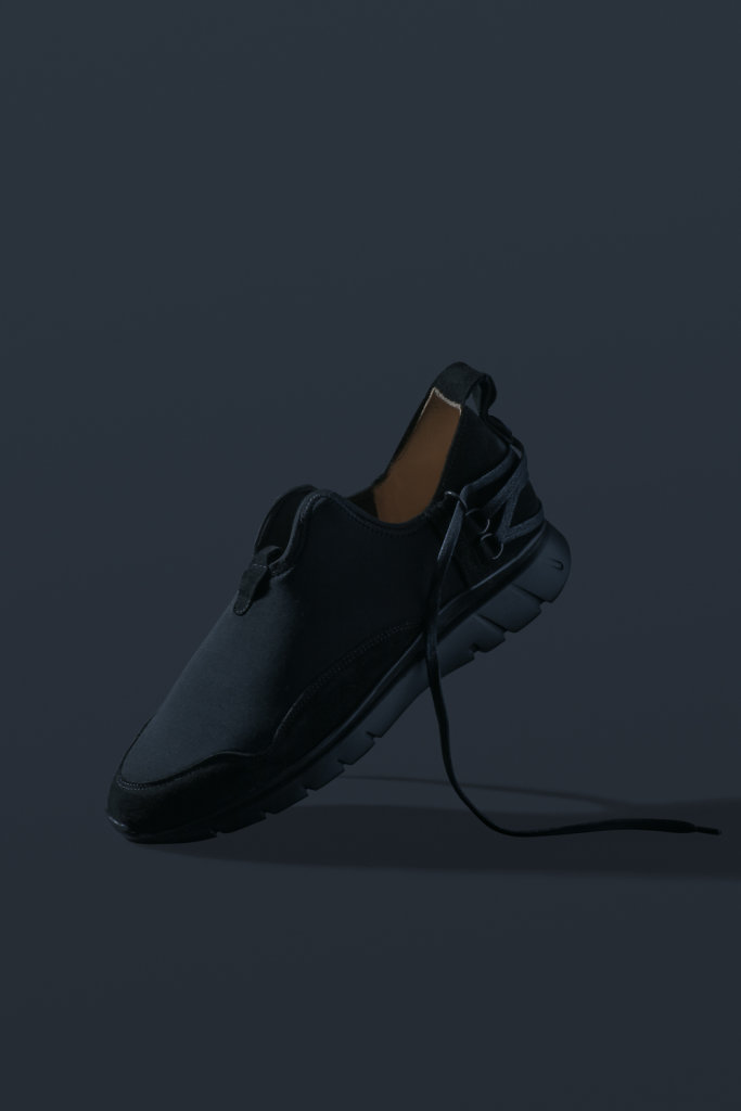 ekn footwear, Bamboo Runner Triple Black C P7